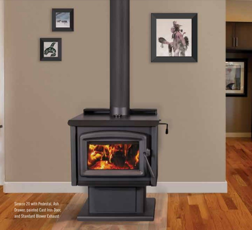 BLAZE KING - SIROCCO 20.2 - WOOD STOVE