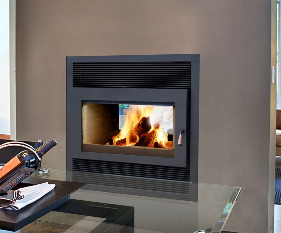 RSF–FOCUS ST – WOOD BURNING FIREPLACE